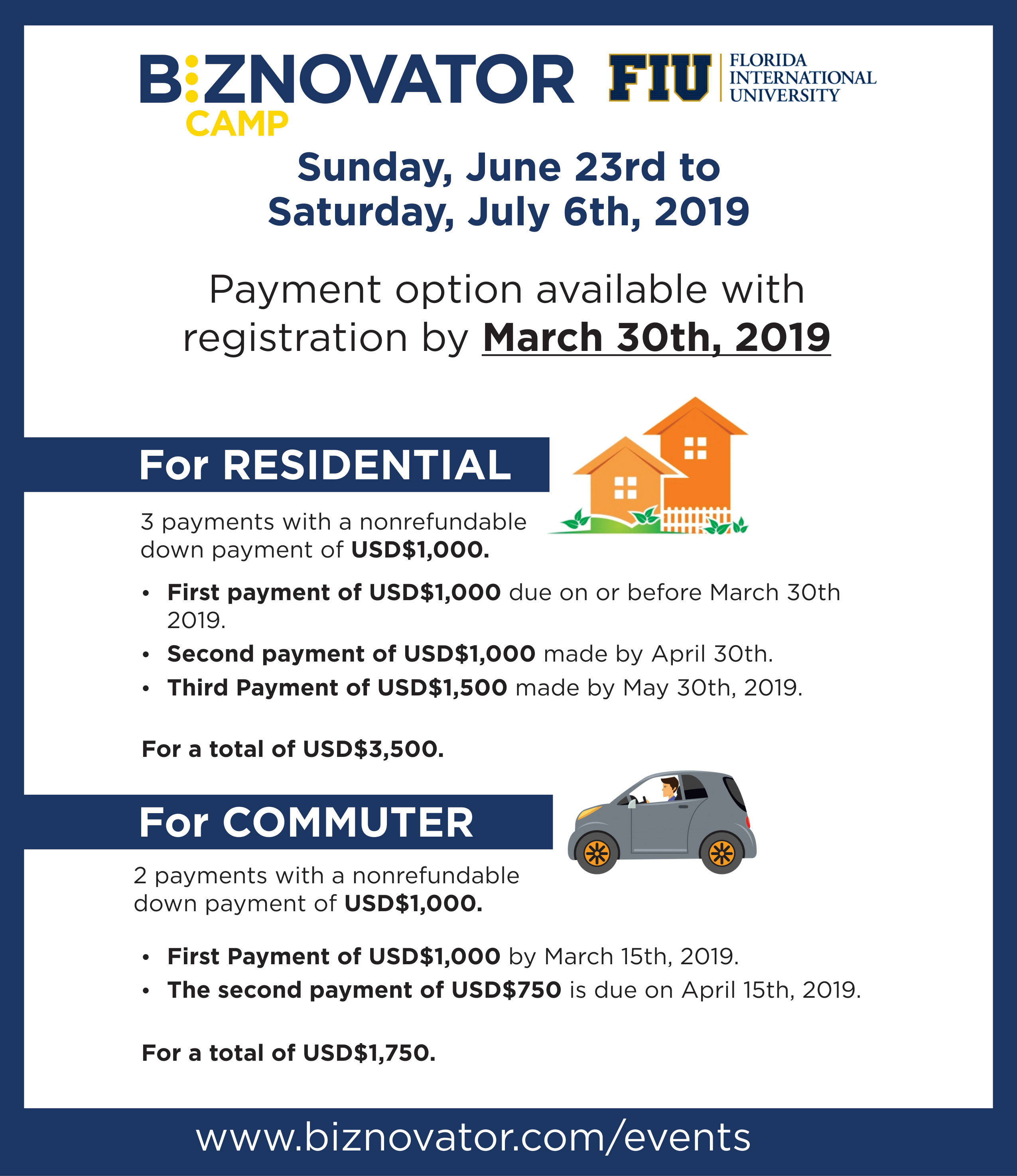FIU-Camp-march-payment-plan-I