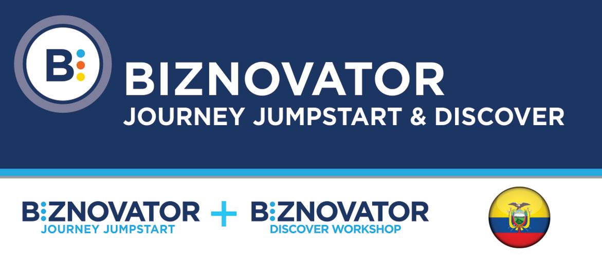 BIZNOVATOR JOURNEY JUMPSTART & DISCOVER WORKSHOP AT ECUADOR